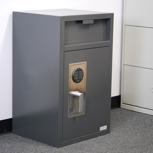 Front Loading Depository Safe with Electronic Lock