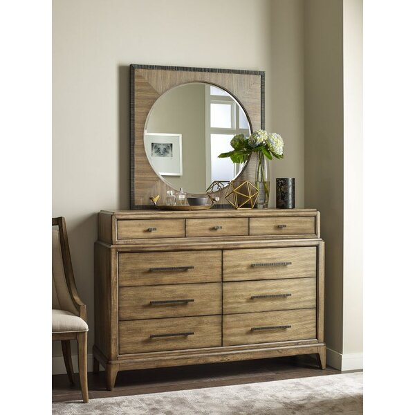 Annabella 9 Drawer Dresser with Mirror by Foundry Select