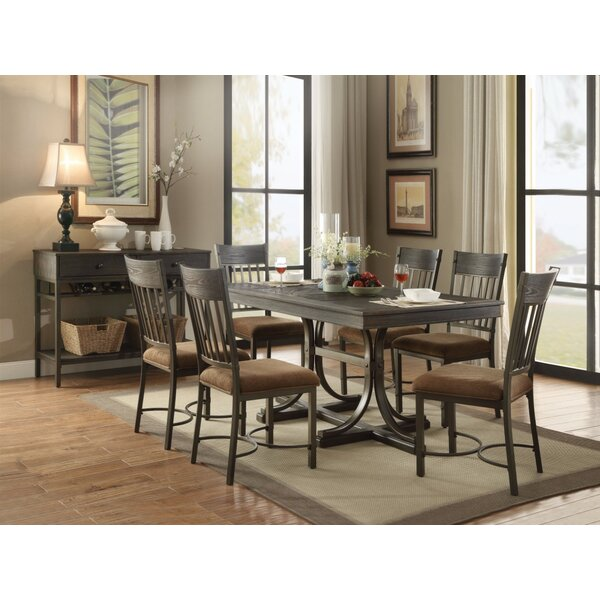 West Oak Lane Rectangular Dining Table by Millwood Pines
