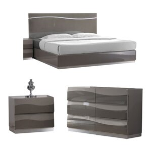Clayfield Platform Configurable Bedroom Set by Wade Logan