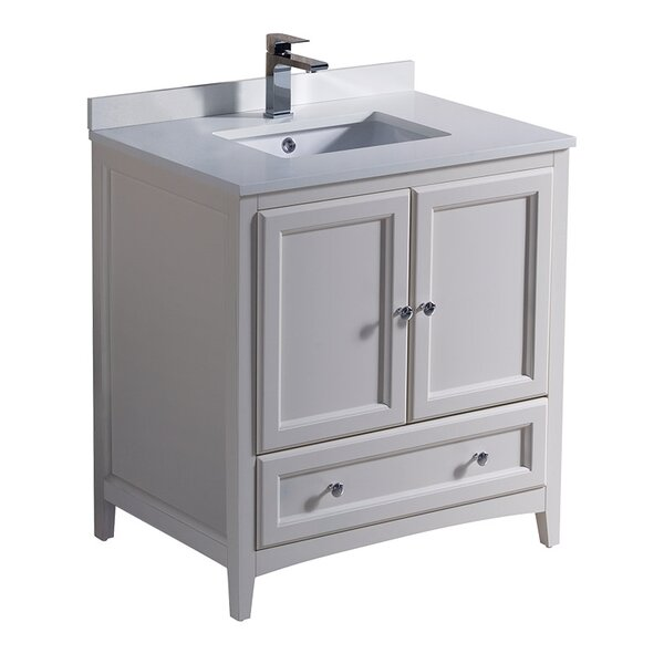 Oxford 30 Single Bathroom Vanity Set by Fresca