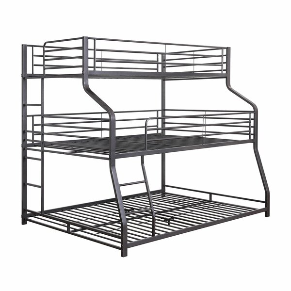Tarra Twin Over Full Over Queen Bunk Bed By Isabelle & Max