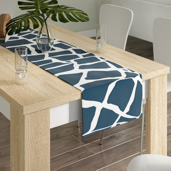 Project M British Mosaic Table Runner by East Urban Home