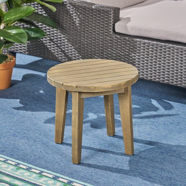 Matsumura Solid Wood Side Table By Union Rustic by Union Rustic Fresh