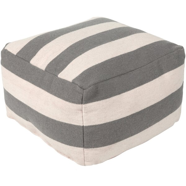 Wynnwood Pouf by Breakwater Bay