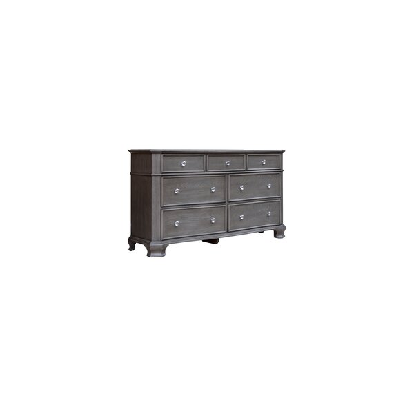 Savell 7 Drawer Dresser by House of Hampton