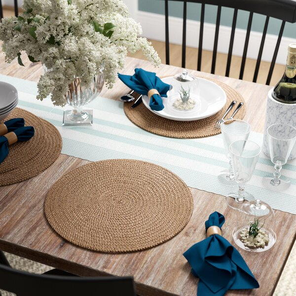 Georgina Jute Placemats (Set of 4) by Birch Lane™