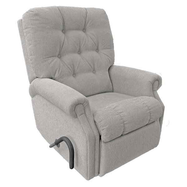 Baily with Easy Reach Handle 21 Manual Wall Hugger Recliner Red Barrel Studio W002613591