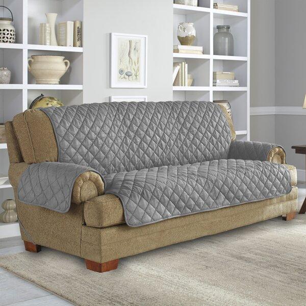 NeverWet Ultimate Waterproof Box T-Cushion Sofa Slipcover By Serta