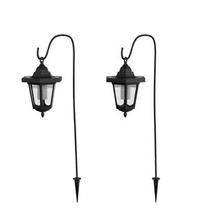 Hanging Solar Coach 1 LED Pathway Light (Set of 2) (Set of 2) By Pure Garden
