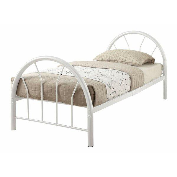 Dicha Metal Twin Platform Bed by Harriet Bee
