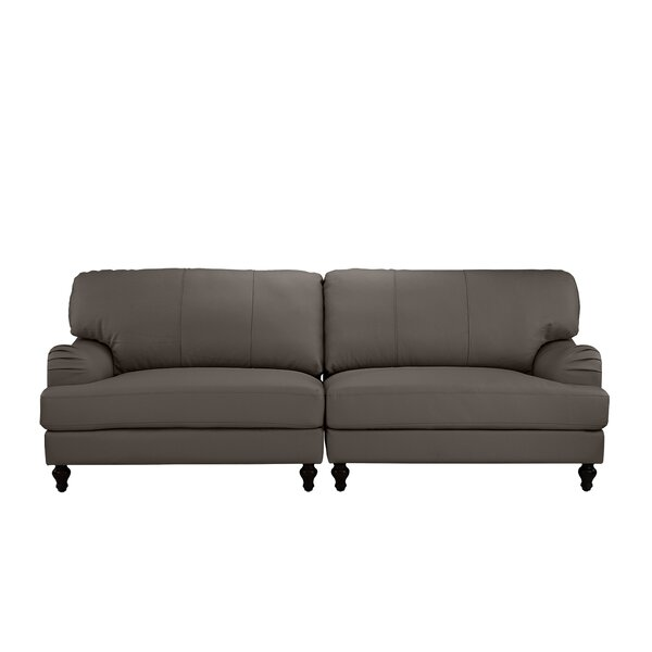 Boell Convertible 2 Piece Leather Sofa by House of Hampton House of Hampton