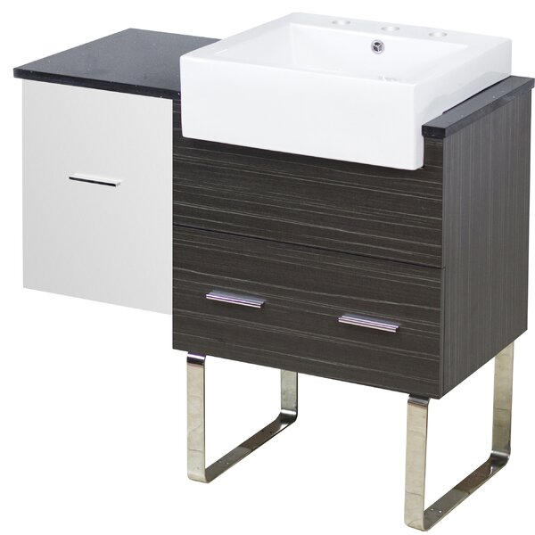 Bateson 37 Single Bathroom Vanity Set by Orren Ellis