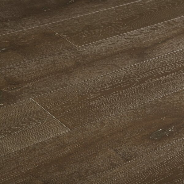 Baltic 7-1/2 Engineered Oak Hardwood Flooring in Foothill Gray by Myfuncorp