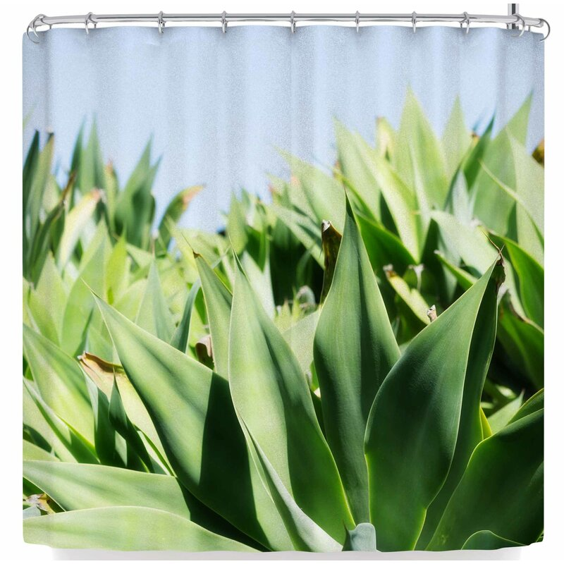 Ann Barnes Agave Forest Shower Curtain