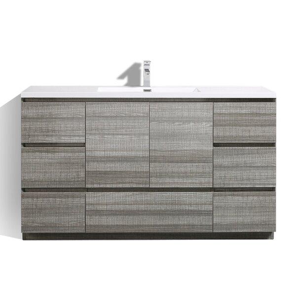 Riker Free Standing 59 Single Bathroom Vanity Set by Orren Ellis