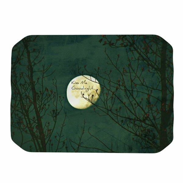 Kiss Me Goodnight Placemat by KESS InHouse