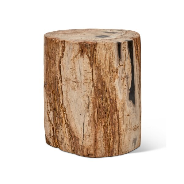 Elements Fully Polished Accent Stool by Urbia