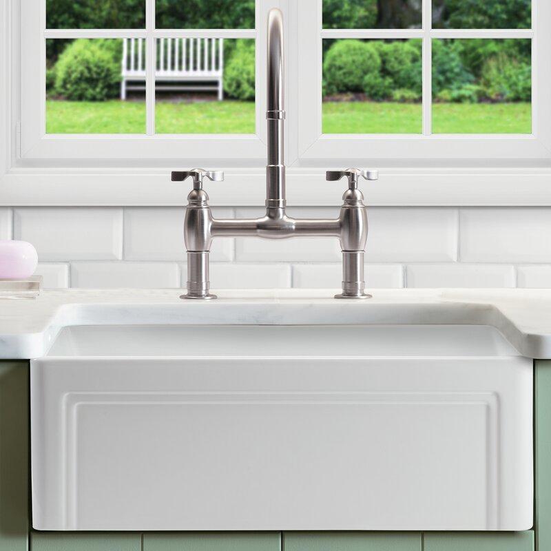 farmhouse/apron kitchen sinks you'll love | wayfair