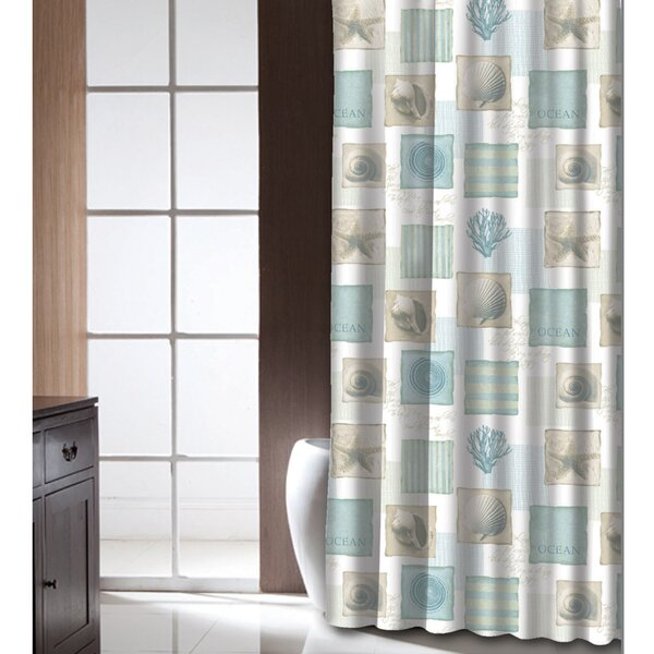 Burdette Shower Curtain by Highland Dunes
