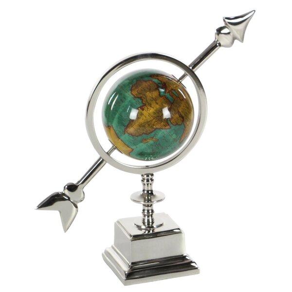 Athena Aluminum Globe by Winston Porter