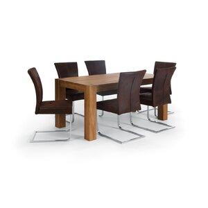 Essgruppe Thanatos mit 6 Stühlen von Massivum