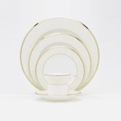 White Palace 5 Piece Place Setting, Service for 1 by Noritake