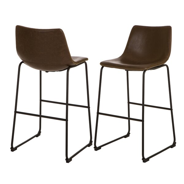 Edgardo 28 Bar Stool (Set of 2) by 17 Stories| @ $199.99