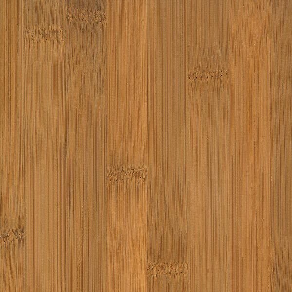 Glueless Locking 5-1/4 Engineered Bamboo Flooring in Horizontal Spice by Wildon Home ®