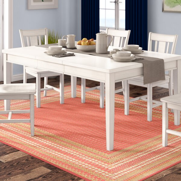 Rowell Extendable Dining Table by Beachcrest Home