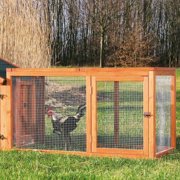 Freddy Outdoor Chicken Run with Mesh Cover by Archie & Oscar