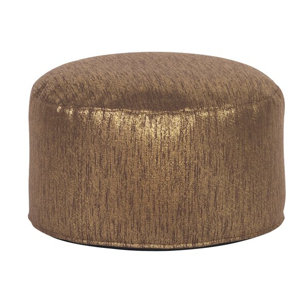 Crowell Glam Pouf by Bungalow Rose