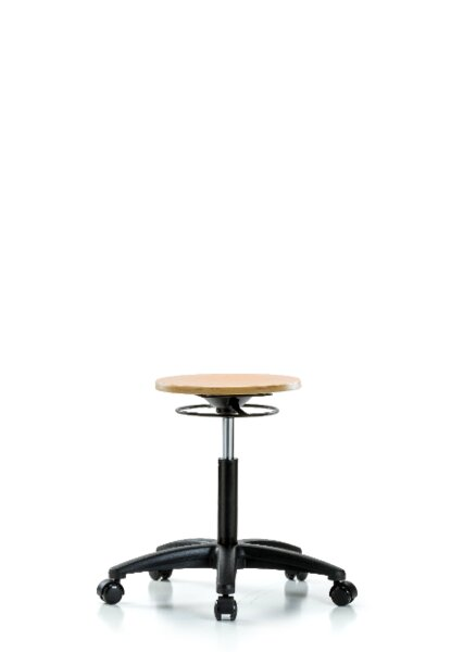 Alec Medium Bench Height Adjustable Lab Stool by Symple Stuff