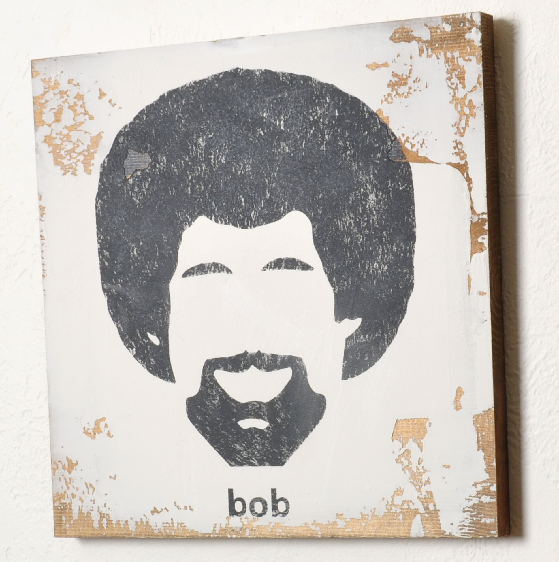 East Urban Home Bob Ross Sign Wall