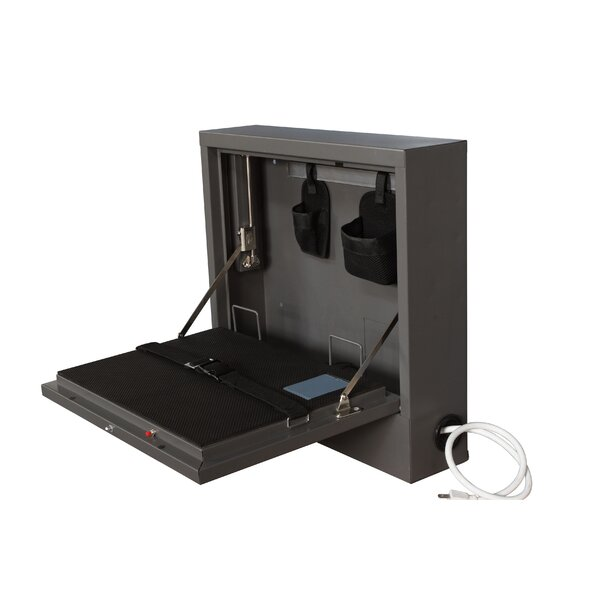 Wall Mount Laptop Safe Security Cabinet by Sandusk