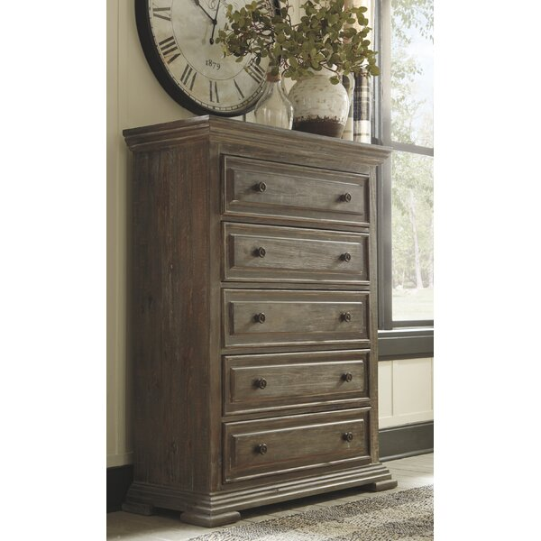 Annalee 5 Drawer Chest by Millwood Pines