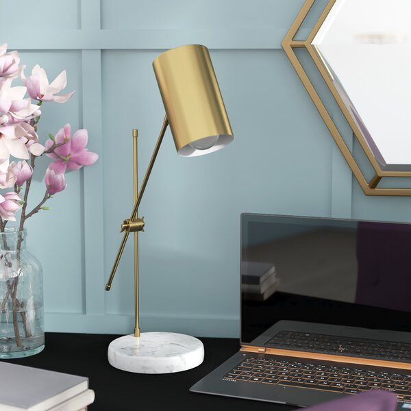 Iroh 23 Desk Lamp by Willa Arlo Interiors