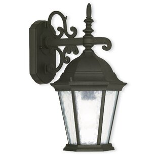 Christian 1-Light Outdoor Wall Lantern By Darby Home Co Outdoor Lighting