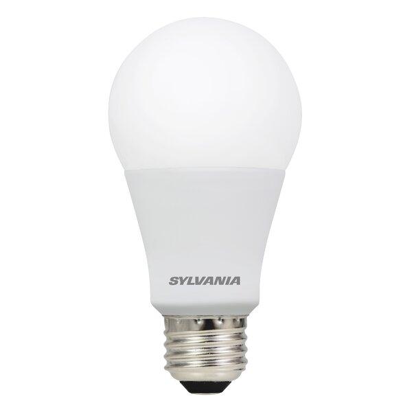 9 Watt (60 Watt Equivalent) A19 LED Smart Light Bulb, Warm White (2700K), E26/Medium (Standard) Base - Apple Homekit Compatible by Sylvania SMART+