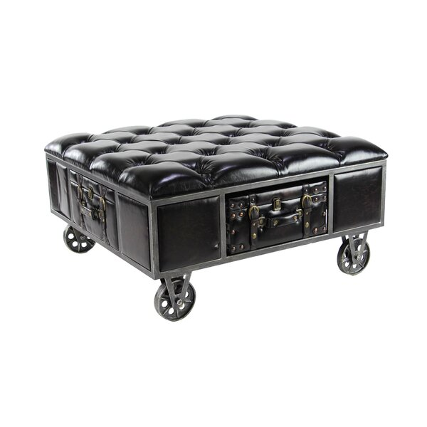 Remylina Traditional Square Tufted Upholstered Storage Bench by 17 Stories