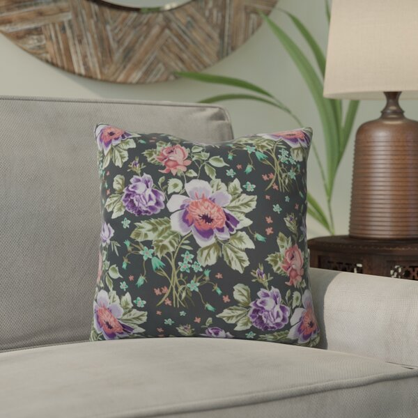 Soltane Floral Outdoor Throw Pillow by Bungalow Rose