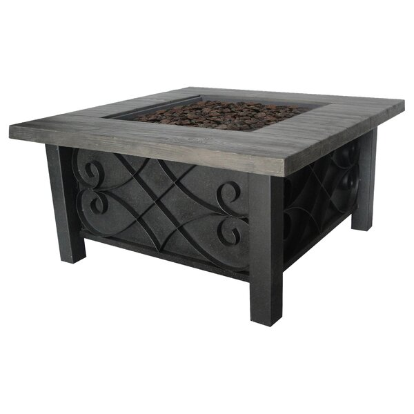 Marbella Stainless Steel Propane Fire Pit Table by Bond Manufacturing