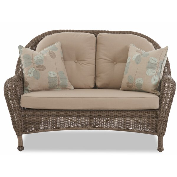 Brody Patio Loveseat with Cushion by August Grove
