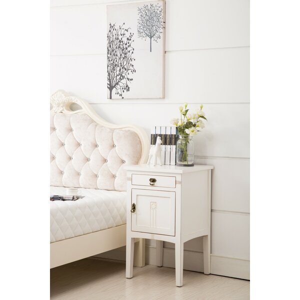 Eilidh 1 Drawer Nightstand By Alcott Hill