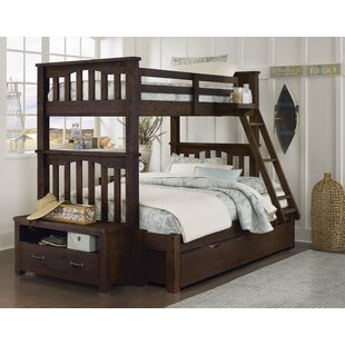 Affordable Stella Twin over Full Bunk with Trundle ByGrovelane Teen