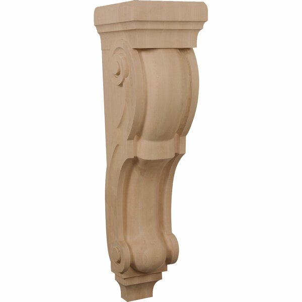Traditional 34H x 9W x 10D Pilaster Corbel by Ekena Millwork