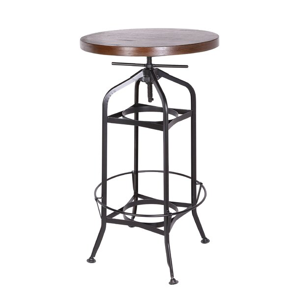 Tapia Adjustable Pub Table (Set of 2) by Williston Forge