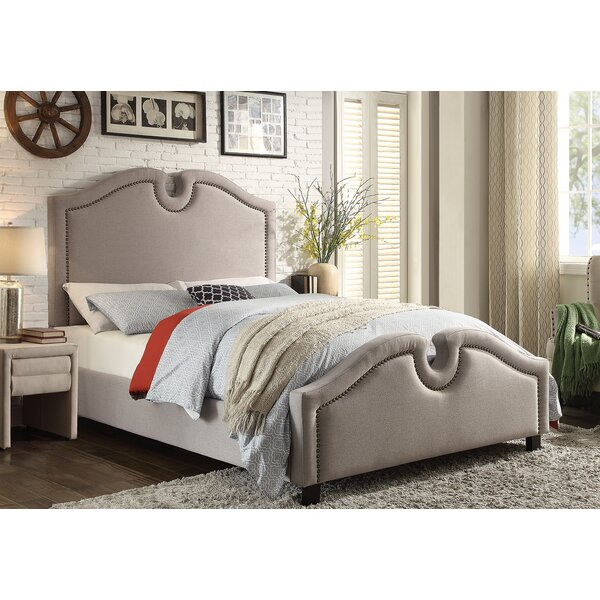Baxley Queen Upholstered Platform Bed by Darby Home Co