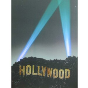 Battery Operated Hollywood LED Lighted Photographic Print on Canvas by Northlight Seasonal