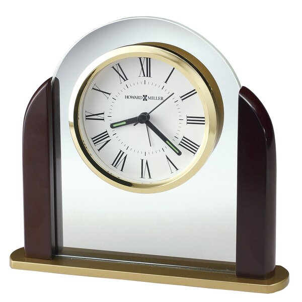 Derrick Table Clock by Howard Miller®